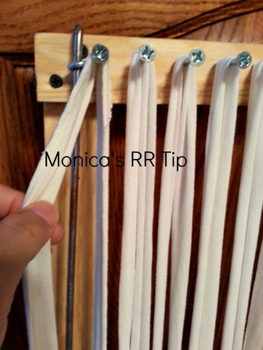 I want to pass on to you this incredible tip from a fellow rag rugger. . .Monica has been enjoying John's looms for a couple of years now...