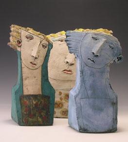☥ Figurative Ceramic Sculpture ☥ Christy Keeney