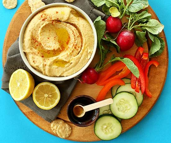 In way less time than it would take to run to the store for a container of not-so-great hummus, you can have this insanely good homemade version.
