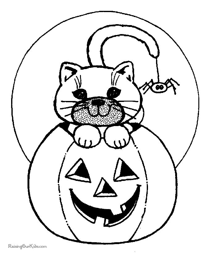 free halloween coloring pages for kids - Google Search