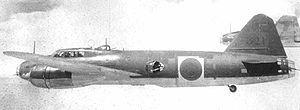 Aplicaciones: aviones de doble ataque      Categoría: avión de ataque de tierra      Diseñador: Honjokiro      Fabricante: Mitsubishi Heavy Industries, Ltd.      Operador: bandera japonesa imperial de Japón (Japanese Navy)      23 de octubre 1939: primer vuelo      Número de producción: 2435 aviones      06 1941: inicio de la operación      Retirado: 1945      Estado operacional: jubilado