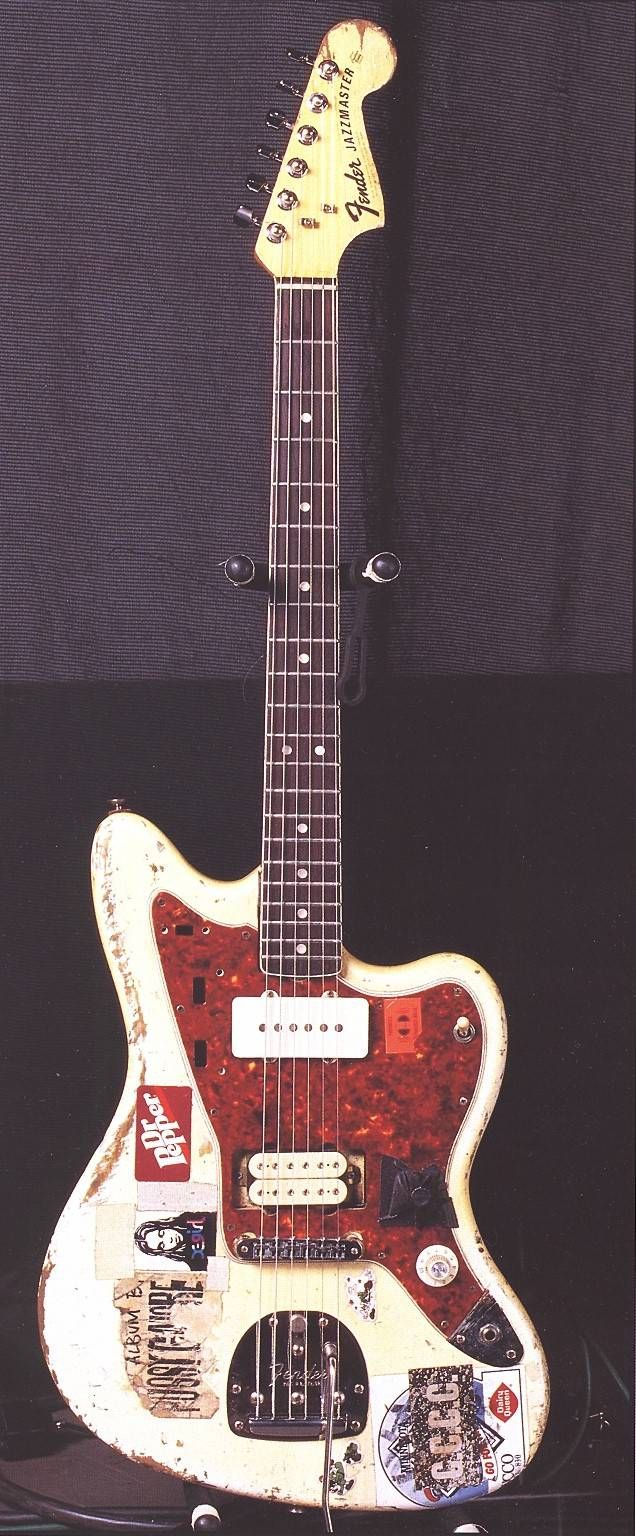 inspo sonic youth white jazzmaster guitar project pinterest youth. Black Bedroom Furniture Sets. Home Design Ideas
