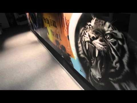 Video Gallery | Airbrush Art & Murals | DC WILLANS