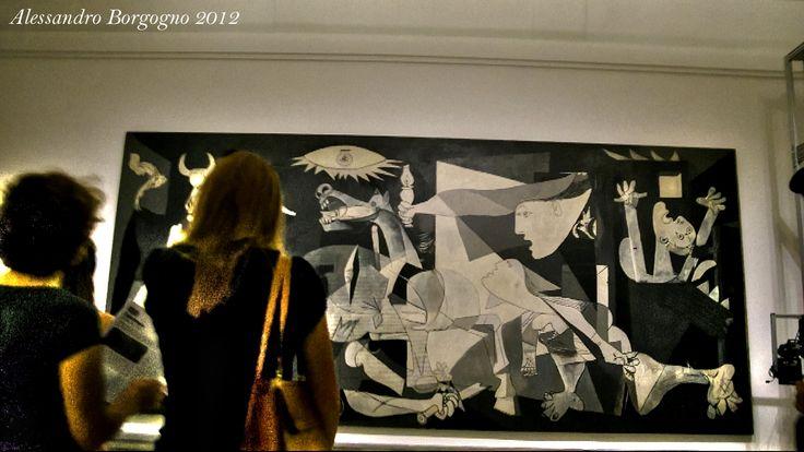Espana - Madrid - Museo nacional centro de arte reina Sofia