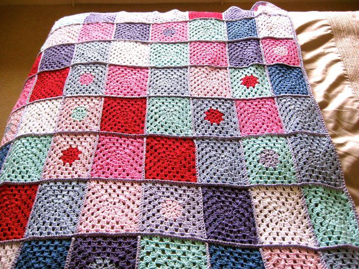 Woolly hug blanket