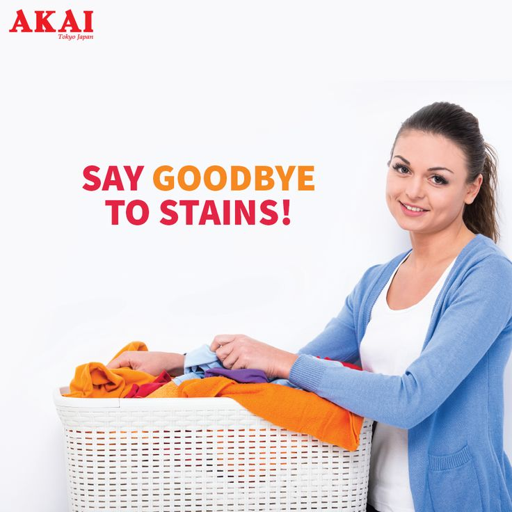 Wash your worries away!  Get rid of the obstinate stains on clothing quickly.