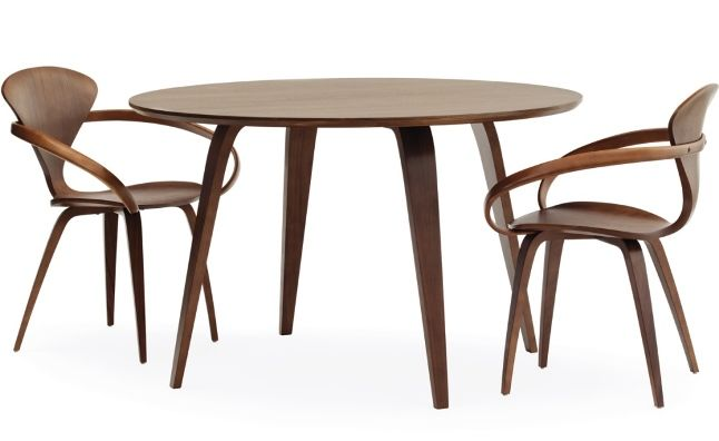 Cherner Chairs & Round Table