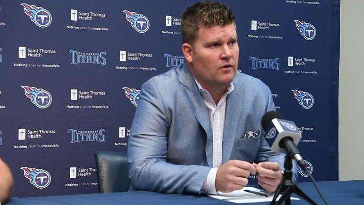Video: Titans GM Jon Robinson, Mike Mularkey preview 2017 NFL Draft