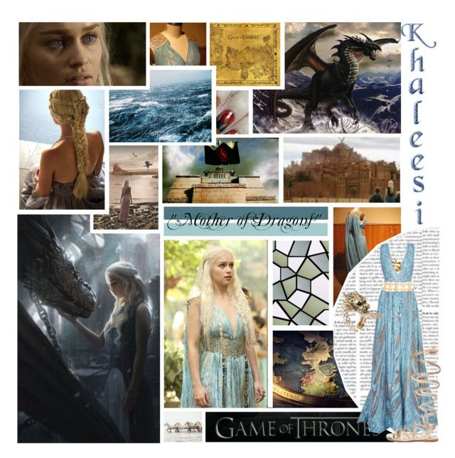 """""""I am Daenerys Stormborn of the House Targaryen, The First of Her Name, the Unburnt, Queen of Meereen, Queen of the Andals and the Rhoynar and the First Men, Khaleesi of the Great Grass Sea, Breaker of Chains and Mother of Dragons."""" by allie-luv ❤ liked on Polyvore featuring GUESS, Monday, Elie Saab, Gianvito Rossi, 2b bebe and Roberto Cavalli"""