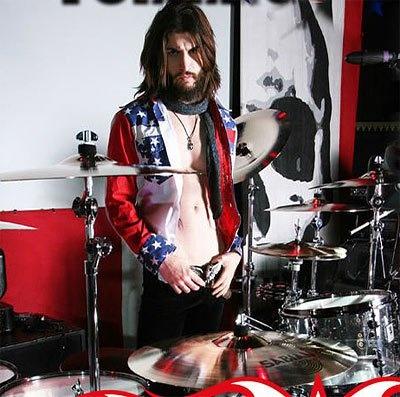 Tommy Clufetos - drummer Ozzy Osborne