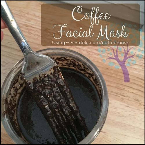 Coffee mask - great for dark under eye circles and puffiness.