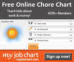 FREE Online Chore Chart System - Frugal Homeschool Family