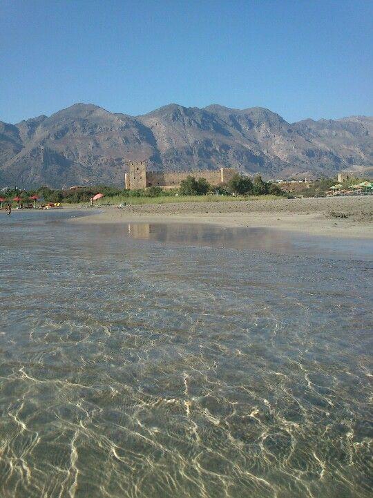 Frangokastello beach , Crete