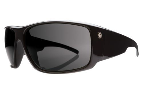 Back Bone Sunglasses in Gloss Black with Grey Lenses by Electric. #Electric #Sunglasses #Australia