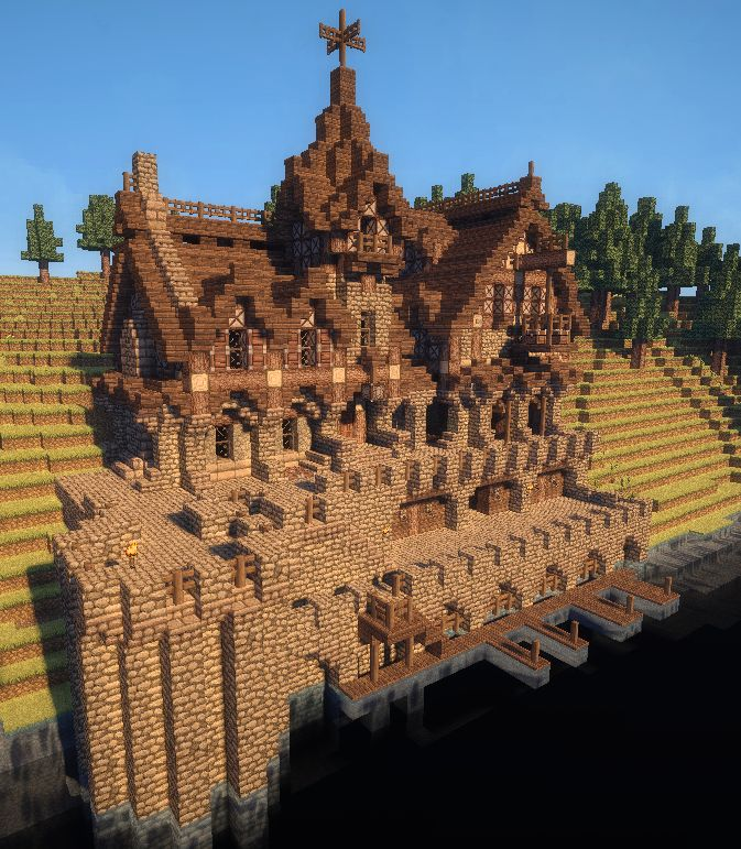 25+ Best Ideas About Cool Minecraft Houses On Pinterest