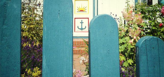 Symbole an Darßer Türen