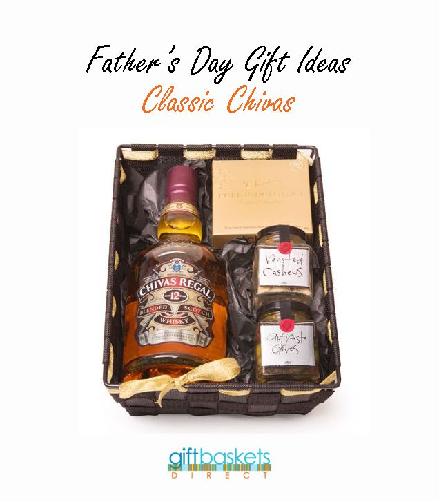 For the whisky drinkers this Father's Day. Get your dad this Chivas gift hamper which includes a bottle of Chivas Regal, Ogilvie and Co Olices and Salted Cashews as wells as Indulgence handmade chocolates! Father's Day Hampers are delivered Australia wide. http://www.giftbasketsdirect.com.au/classic-chivas.html #FathersDayGiftIDeas   #FathersDayGifts   #FathersDay   #GiftHamper