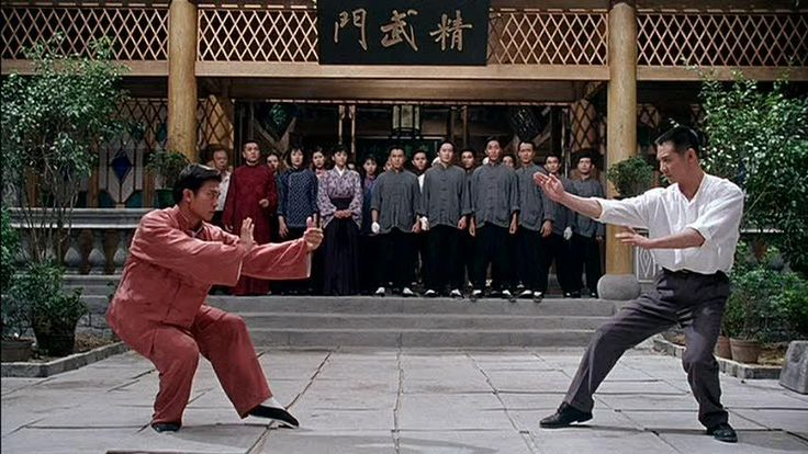 another Fist of Legend fight scene