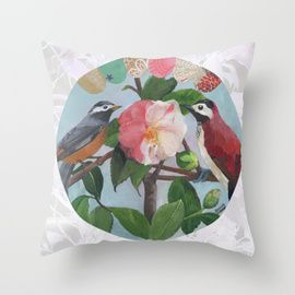 Throw Pillows by Daniela Glassop Illustration And Design | Society6