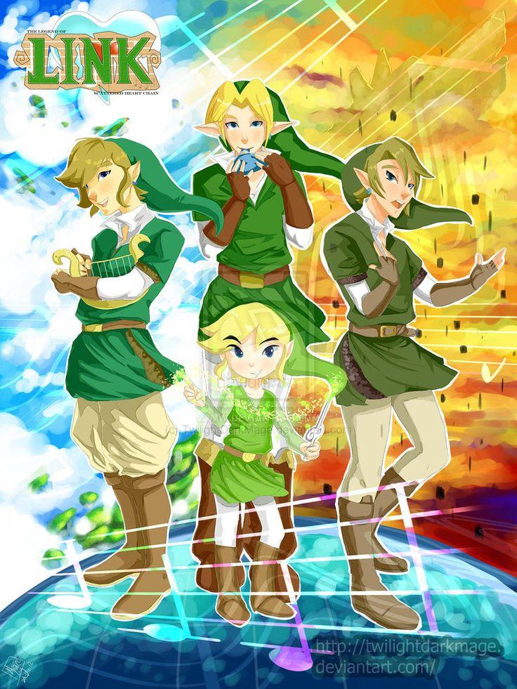 Je l'avoue, je réépingle l'image surtout pour le petit Link au milieu. Il est trop chou!!! :3