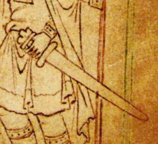 Kard (Knut király, Britannia) - Hagyomány és múltidéző