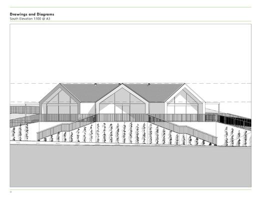 Hobsonville Point Early Learning Centre,South Elevation