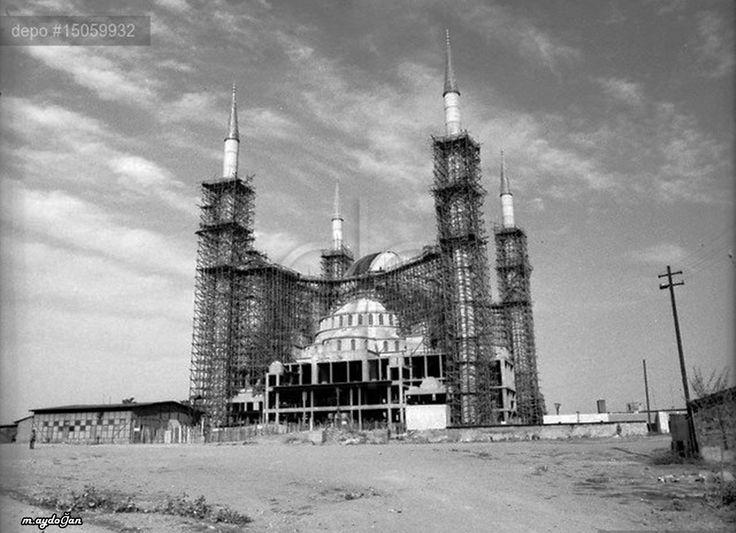 Ankara 1973... Kocatepe Camii inşaat
