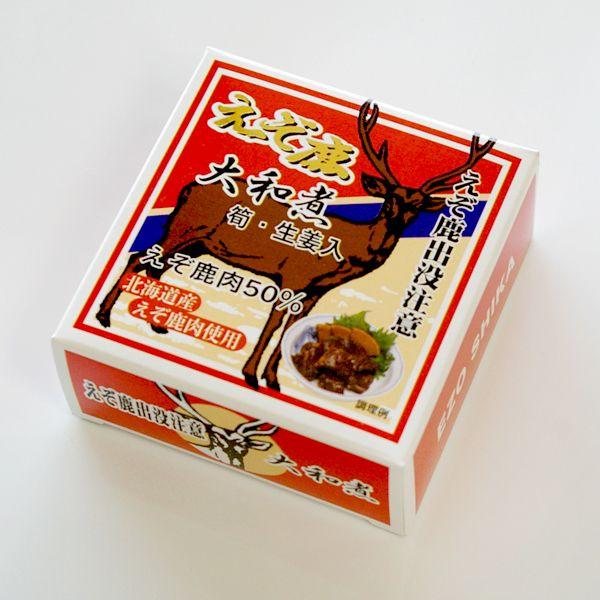 えぞ鹿肉の缶詰[北海道お土産]【楽天市場】