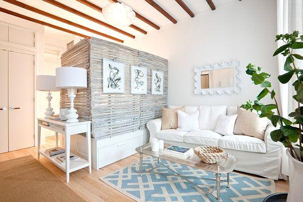 Well-designed studio apartment
