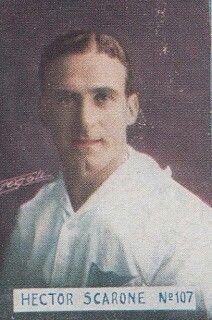 Hector Scarone of CD Nacional & Uruguay in 1931.