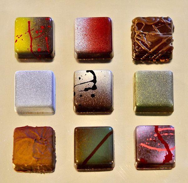 Fruition Chocolate's 9-Piece Holiday Assortment look Ah-mazing!