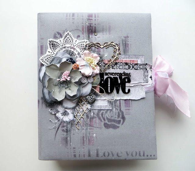 """Crazy Love: Многослойный альбом из бумаги """"Элегия"""""""