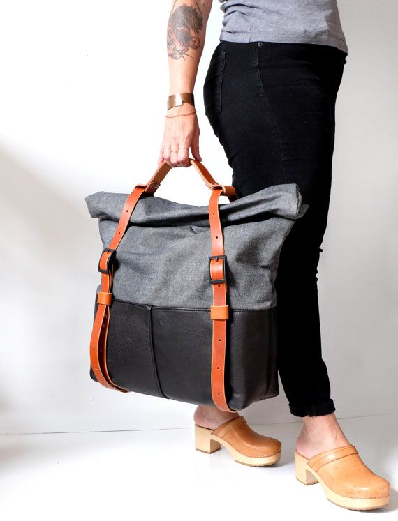 This item is made to order, and will ship within two weeks. Please visit our Ready To Ship section for items that are currently in stock! _____  HotShot Weekender is versatile enough to hold it all, or just enough. Pack it full of gear for a week out of town, or just a few outfits for a weekend away. Fill it up, roll down the top, and buckle it up.  Unisex design for both men and women.  Can be carried by the handle, or worn as a backpack.  Features one outside secret pocket built into the…