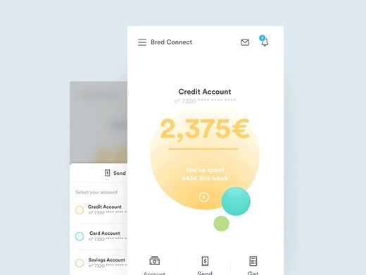 https://dribbble.com/shots/2734117-Banking-App-Interaction