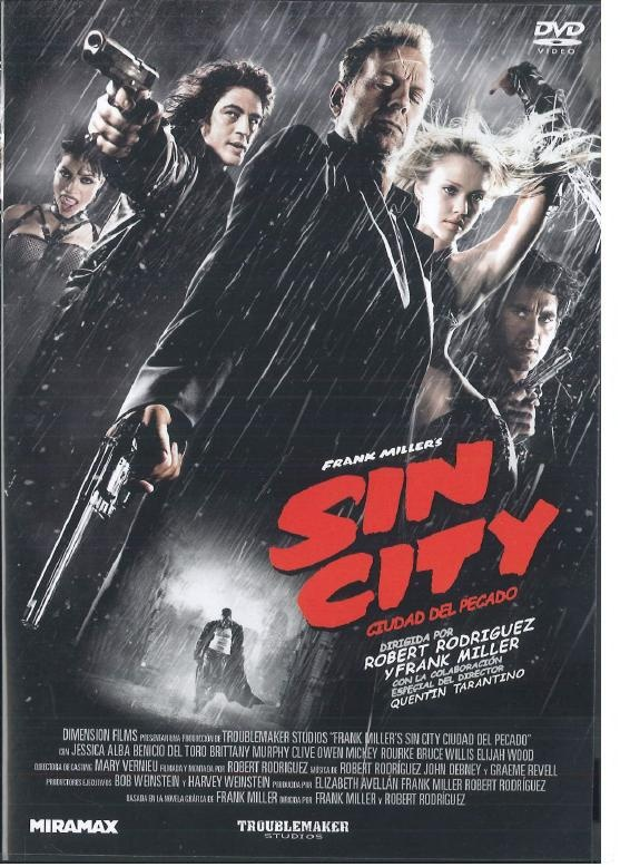 an analysis of the movie sin city directed by frank miller robert rodriguez and quentin tarantino Sin city : watch online now with amazon instant video: rutger hauer, robert rodriguez, frank miller, quentin tarant: amazoncouk amazonco  director robert rodriguez, frank miller, quentin tarant starring rutger hauer rentals include 30 days to start watching this video and 48 hours to finish once started.