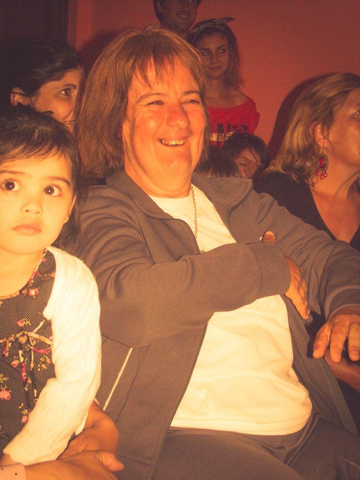 María Celia. Cierre de año con la muestra de las actividades y talleres, con la presencia de los chicos, profesores, acompañantes terapéuticos y directivos del CIRET