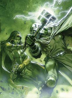 Imagen portada del cómic Annihilation Ronan Vol 1 3, Gamora vs Ronan el Acusador