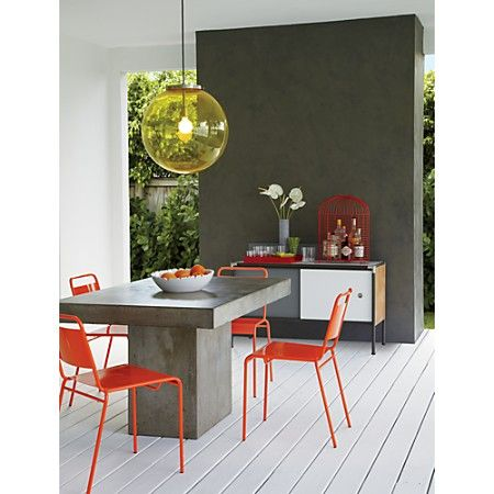 Fuze Grey Dining Table Concrete Dining Table Grey