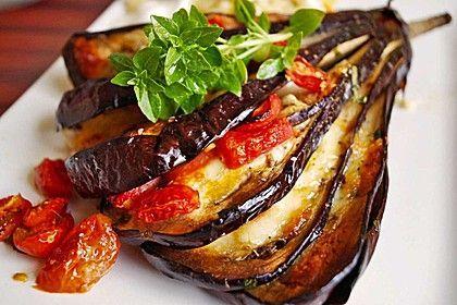 Gebackene Auberginen, ein tolles Rezept aus der Kategorie Gemüse. Bewertungen: 163. Durchschnitt: Ø 4,4.