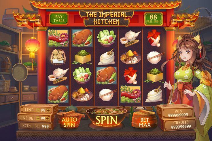 """다음 @Behance 프로젝트 확인: """"The Imperial Kitchen slot""""…"""