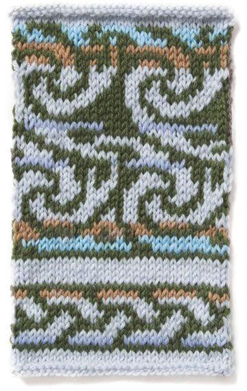 185 best Fair Isle Knitting Patterns images on Pinterest   Fair ...