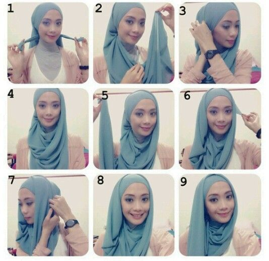 Easy hijab tutorial