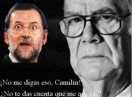 Rajoy encelado