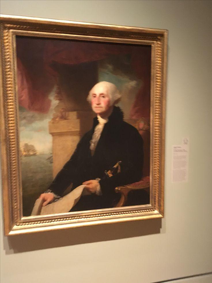 George Washington at Crystal Bridges Art Museum