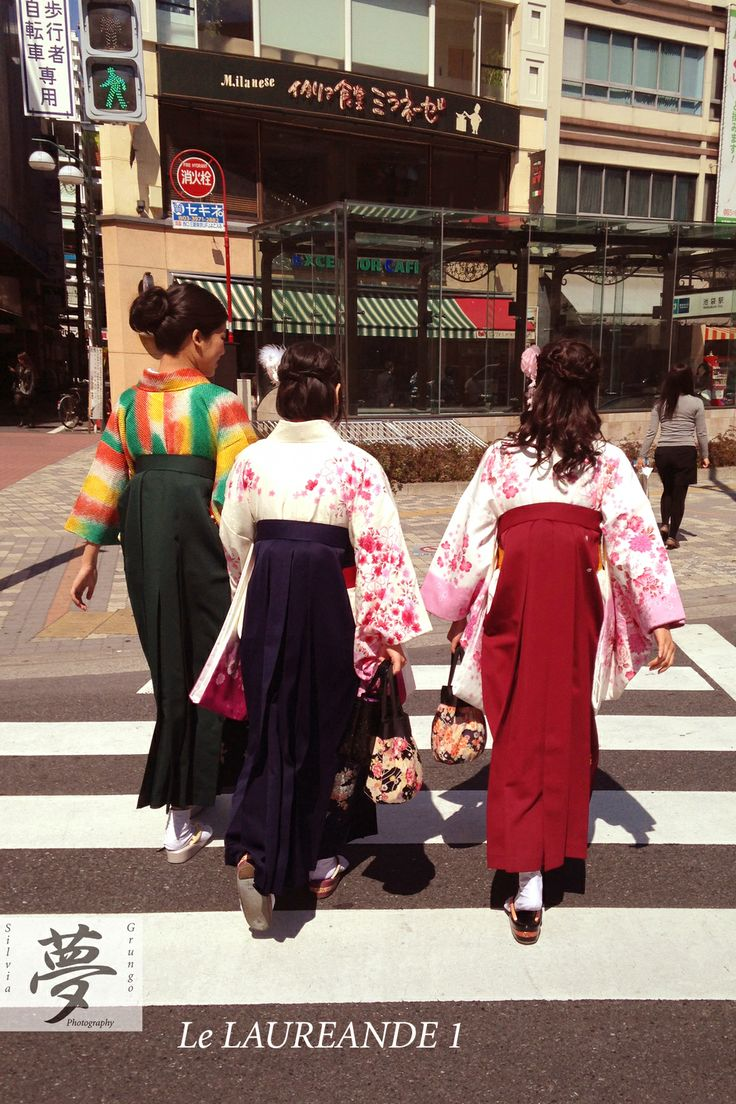 Ready to graduate 1  #tokyo #kimono #japan