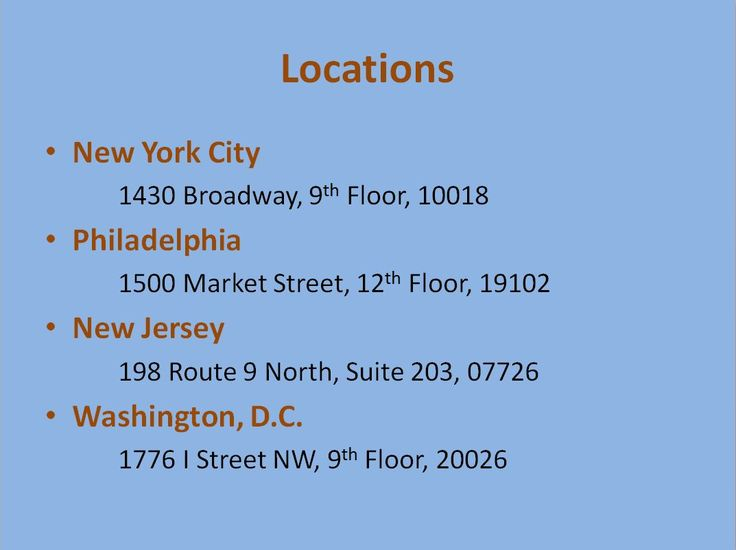 Where to find our agency!