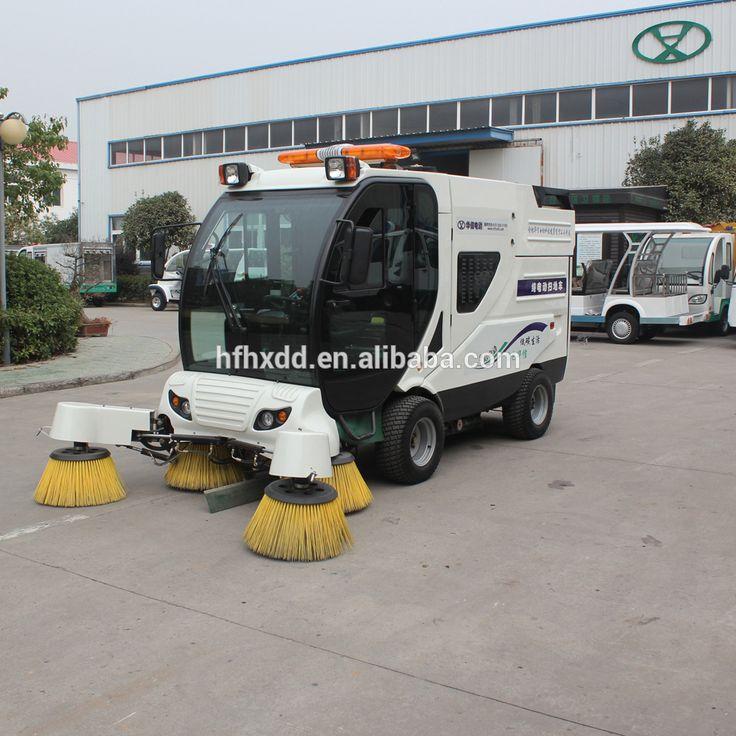 """street cleaning truck, ride on floor cleaning machine/sanitation sweeper car/European Road Sweeper"""