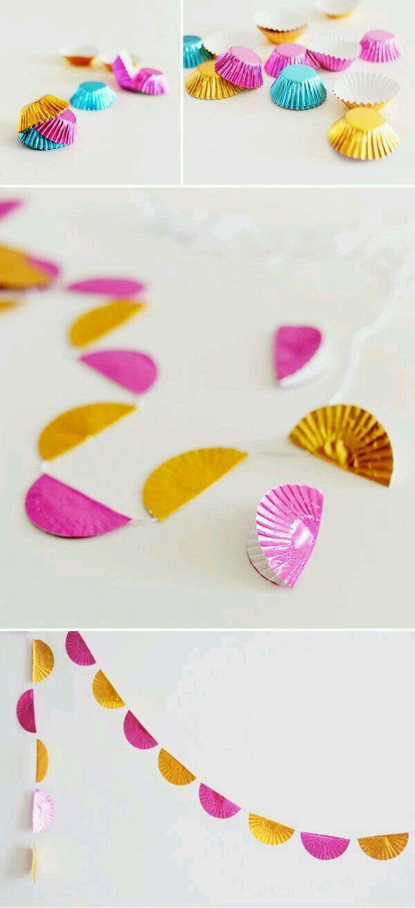 Idéias criativas para decorar sua festa...