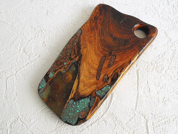 Copper City Extra Mesquite Cutting Board With Inlay By