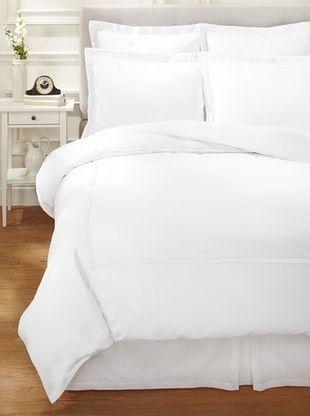 55% OFF Garnier-Thiebaut Nice Hotel Style Duvet Set (White/White)